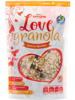 "Гранола ""Biomania"" ""Love Granola"" Ореховая"